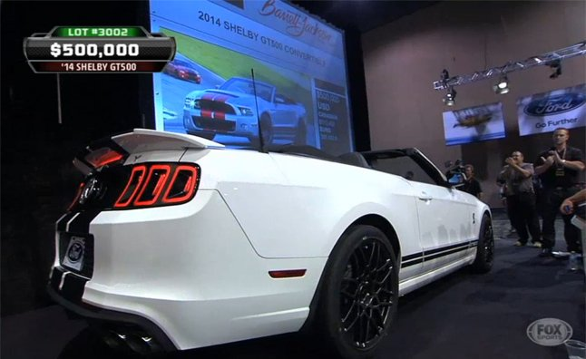 Last 2014 Shelby GT500 Drop Top Nets $500K at Auction