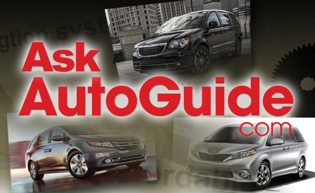 Ask AutoGuide No. 21 – Toyota Sienna vs. Honda Odyssey vs. Chrysler Town & Country