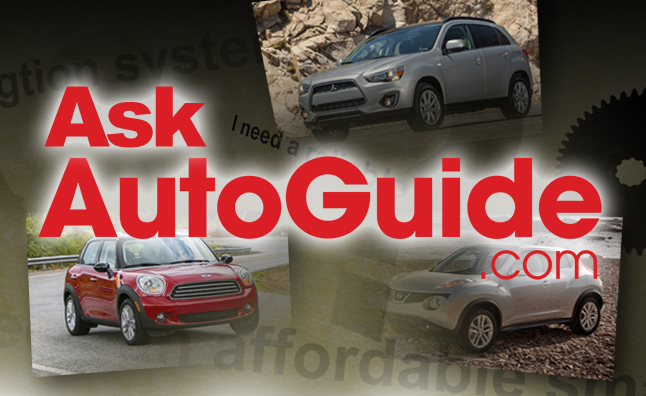 Ask AutoGuide No. 22 – Nissan Juke vs. Mitsubishi Outlander Sport vs. MINI Countryman