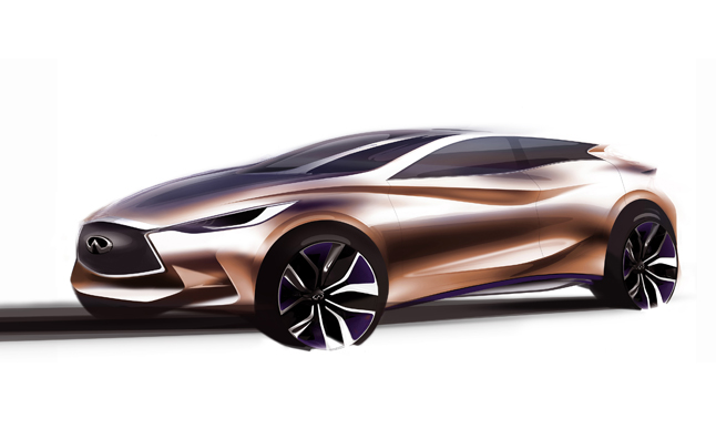 Infiniti Q30 Teased Ahead of Frankfurt Motor Show Debut