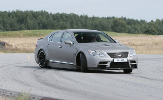 Lexus Continues Development of LS650 TMG