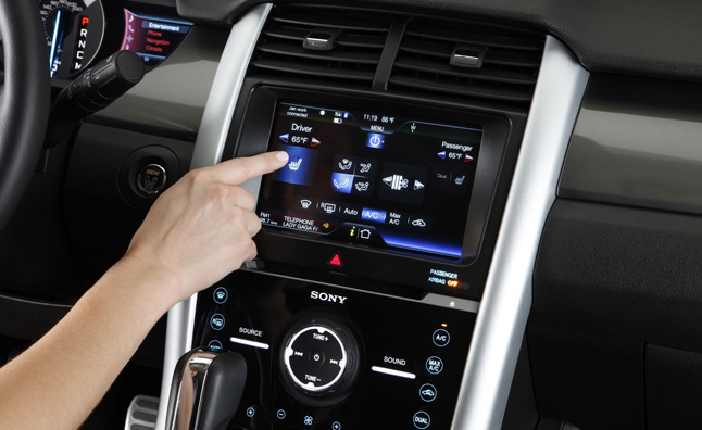 MyFord Touch Update to Improve Buttons, Voice Control