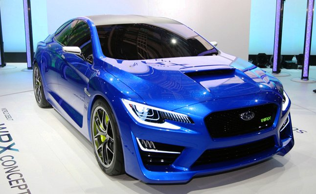 2015 Subaru WRX Expected to Debut at LA Auto Show