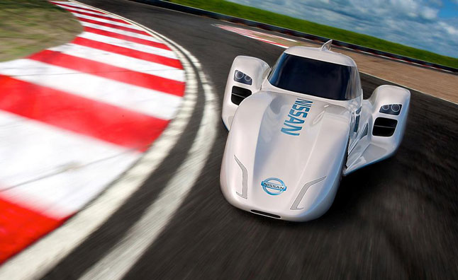Nissan Electric Race Car to be Tested by Lucas Ordóñez