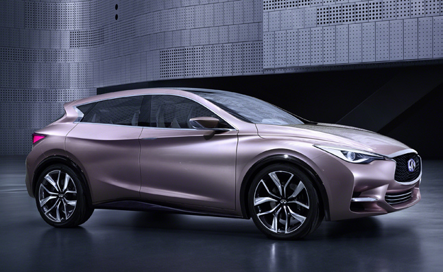 Infiniti Q30 Concept Courts Younger Buyers
