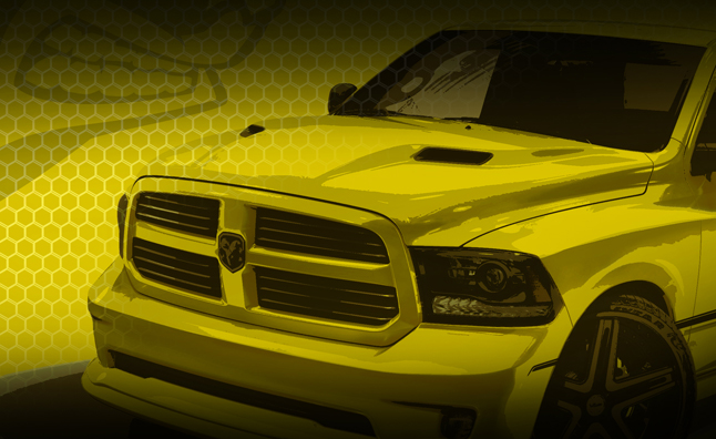 Ram Teases Rumble Bee Truck Concept in Photos