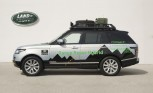 Range Rover Hybrid Makes Exploring Nature Greener