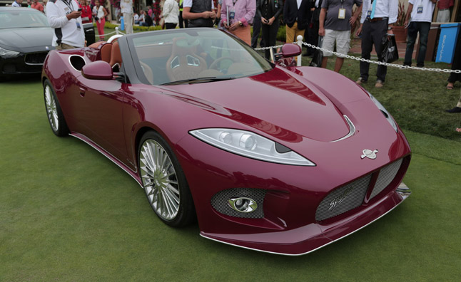 Spyker B6 Venator Spyder Concept Revealed at Pebble Beach