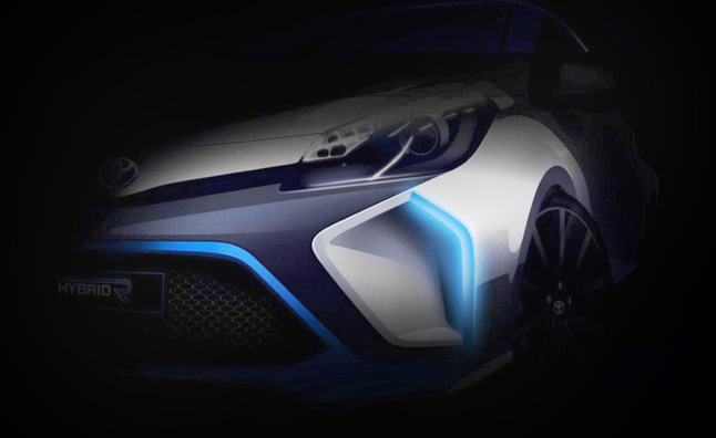 Toyota Hybrid-R Concept Teased Again Before Frankfurt