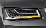 Audi A8 Headlights Detailed Before Frankfurt Debut