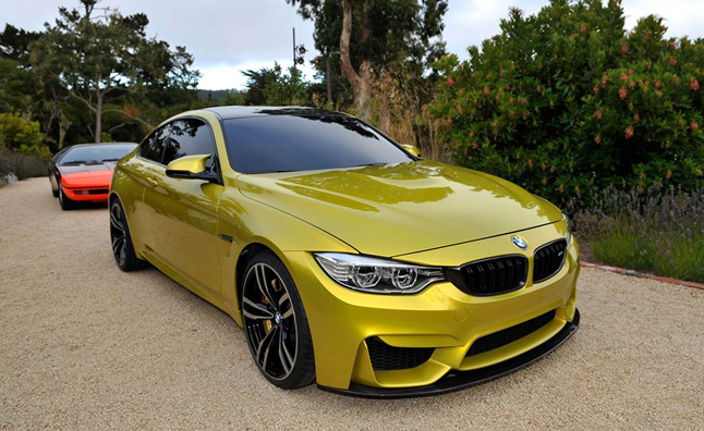 BMW Concept M4 Coupe Shows Off at Pebble Beach