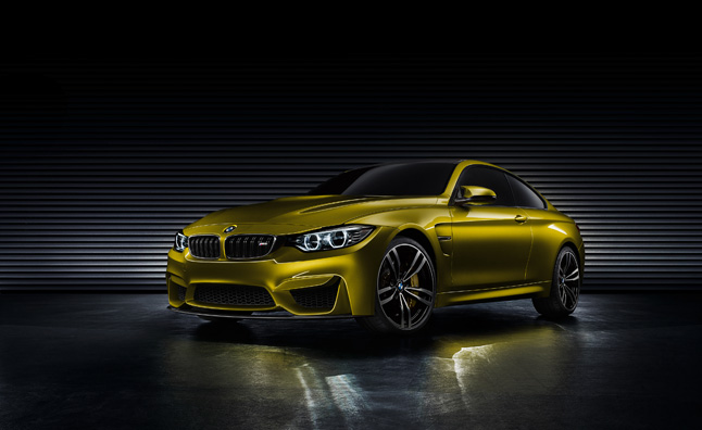 BMW M4 Coupe Concept Officially Revealed