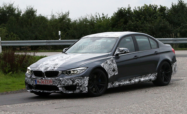 2014 BMW M3 Looks Production-Ready in Spy Photos