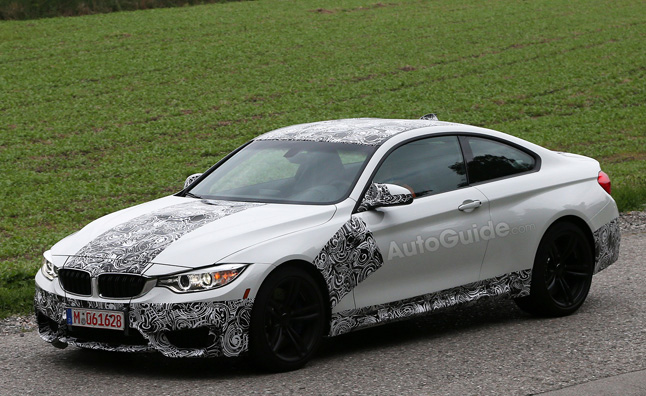 BMW M4 Coupe Mostly Revealed in Spy Photos