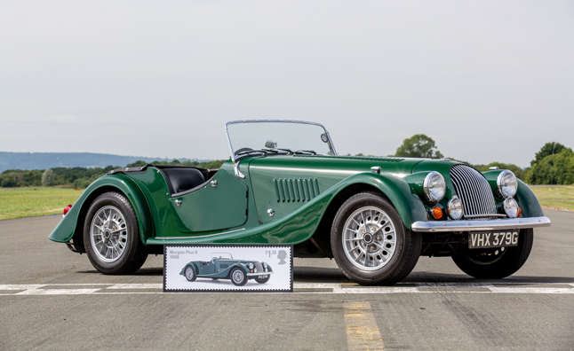Royal Mail Releases British Auto Legends Stamps