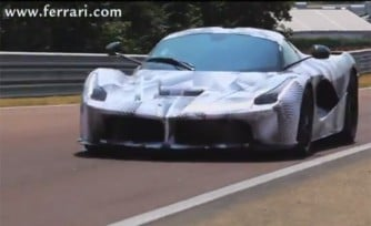 Watch Fernando Alonso Drive Lap the LaFerrari at Fiorano