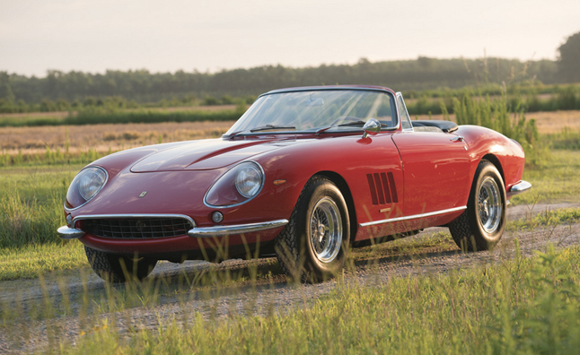 2013 Monterey Classic Car Auction to Top $325 Million