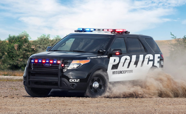 Ford Police Interceptor Utility Vehicle Gets EcoBoost V6
