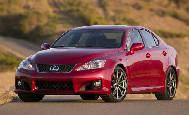 2014 Lexus IS-F Gets a $1,600 Prike Hike, Carries on Old Bodystyle