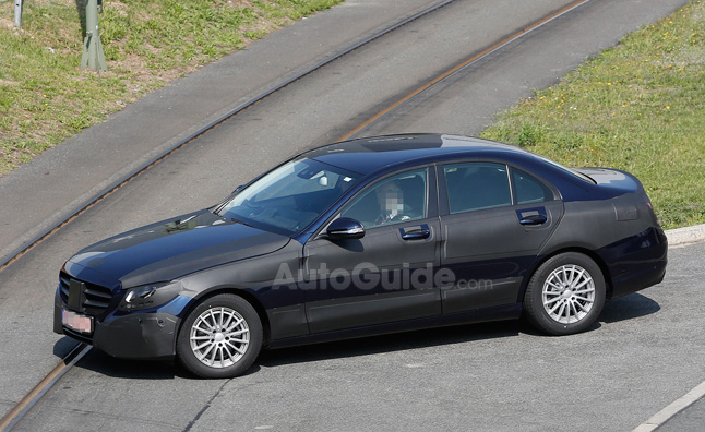 Mercedes C-Class Loses Some Camo in Spy Photos
