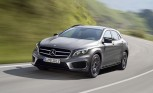 2015 Mercedes GLA Photos Leaked