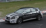 Mercedes GLA 45 AMG Spied Testing at the Nürburgring