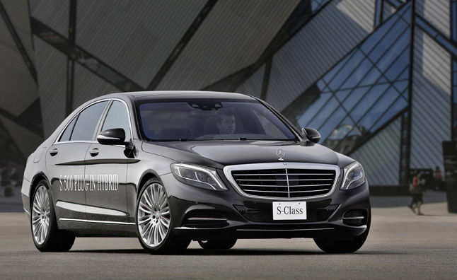2014 Mercedes S500 Plug-in Hybrid Has Speed and MPGs