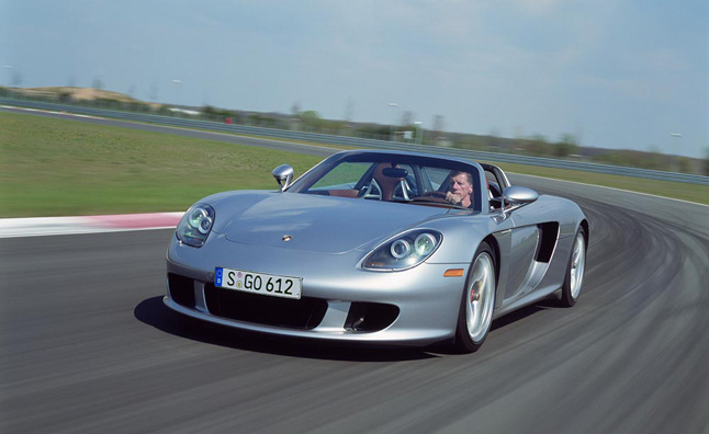 Porsche, Michelin Develop New Tires for Carrera GT