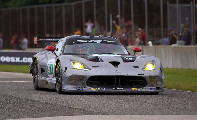 Viper Wins First Race a Year After Return to ALMS