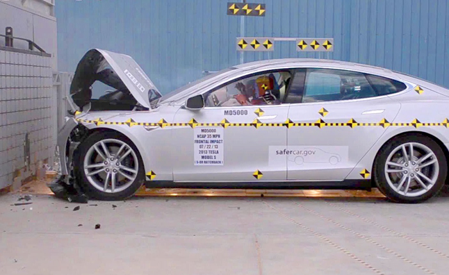 Tesla Model S is NOT the Safest Car Ever, Say Feds