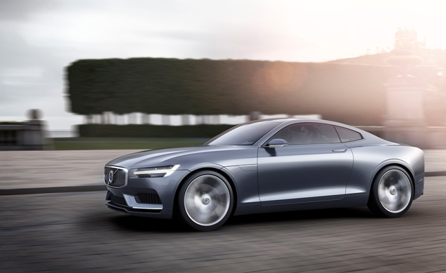 Volvo Concept Coupe Previews Brand's Future Style, New Models
