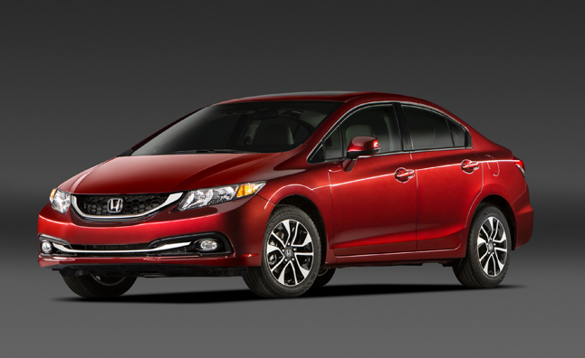 2014 Honda Civic Updates to Include Better MPG