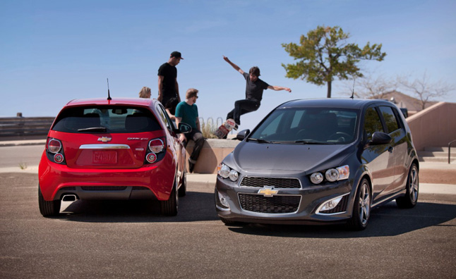 2014 Chevrolet Sonic Adds New Safety Features
