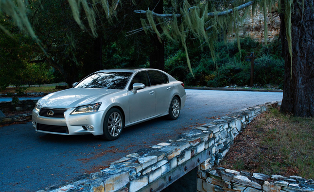 2014 Lexus GS 350, 450h Add Eight-Speed Transmission