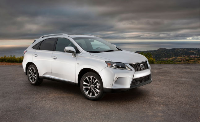 2014 Lexus RX SUV Priced From $40,670