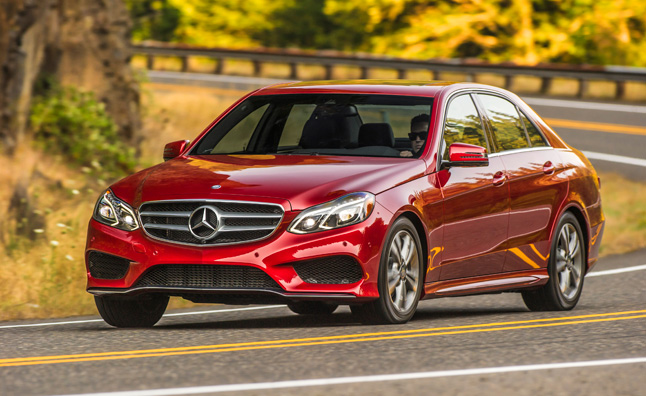 2014 Mercedes E250 BlueTEC Rated at 45-MPG Highway