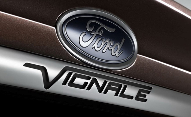 Ford to Debut 'Vignale' Sub-Brand in Frankfurt