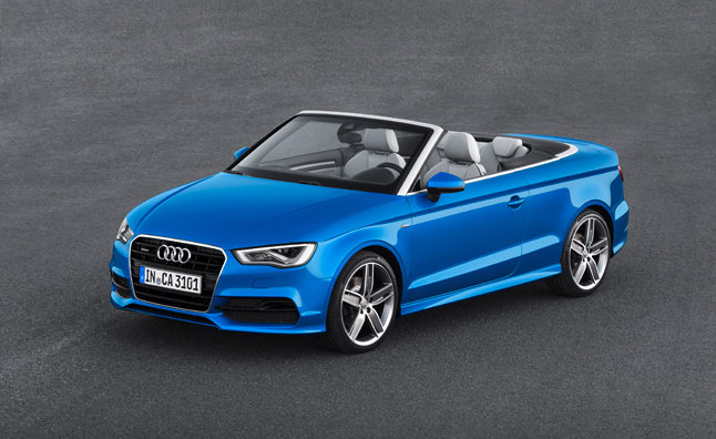 2015 Audi A3 Cabriolet Officially Revealed