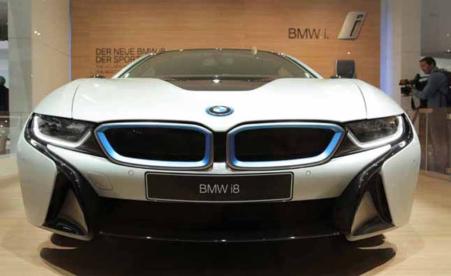 bmw i8 production model