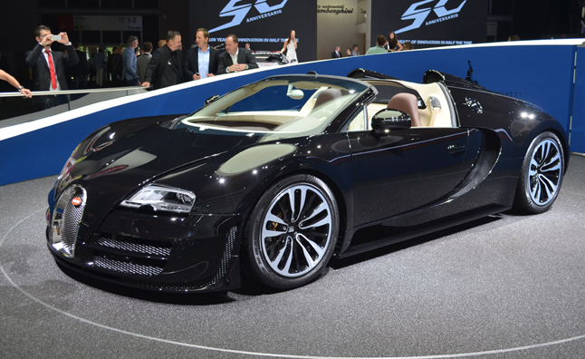 Bugatti Veyron Grand Sport Vitesse Jean Bugatti is Redundant and Fast