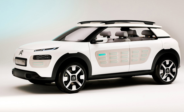 Citroën Cactus Concept a lot Softer Than it Sounds