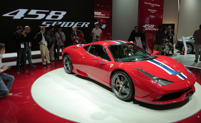 Ferrari 458 Speciale Video, First Look