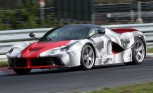 LaFerrari Spotted Laying Laps at the Nurburgring