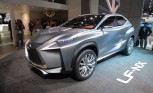 Lexus LF-NX Concept Revealed With Hybrid Drivetrain