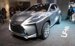 Lexus LF-NX Crossover Concept Video, First Look