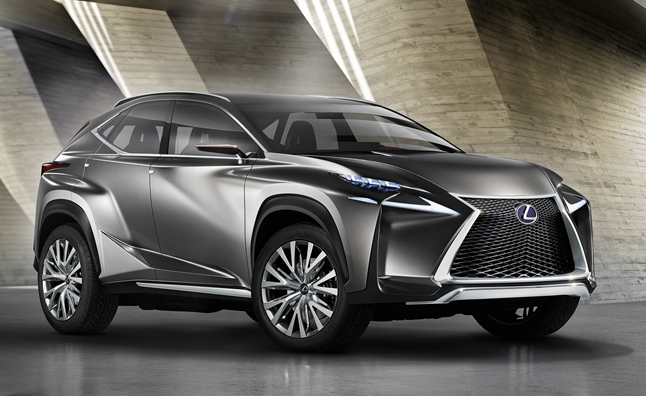Lexus NX Crossover Previewed in Dramatic Concept