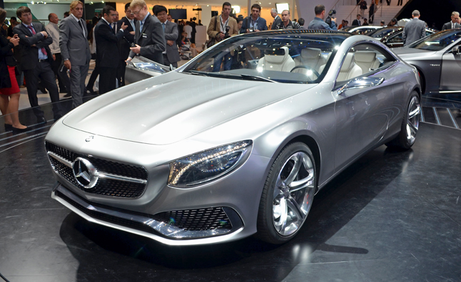 Mercedes S-Class Coupe Concept Revealed as the New CL-Class