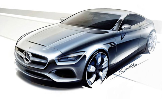 Mercedes S-Class Coupe Concept Confirmed for Frankfurt