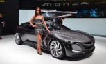 Opel Monza Concept Burns Electricity, Natural Gas