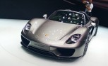 Porsche 918 Spyder Makes Global Debut in Frankfurt